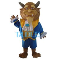 beast fancy dress - New Beast Mascot Costume From Beauty and the Beast Fancy Dress Adult