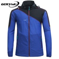 Camping & Hiking athletic windbreaker - Breathable Athletic Windbreaker Outdoor Sports Men Running Jacket Windproof Pack Bike Bicycle Clothing Coat Clothes