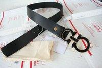 big letter box - BRAND F BIG BUCKLE BELT Mens Belts Luxury belt F Buckle Genuine Leather Belts For Men Waist F Belt with original box YETI