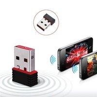 Tarjeta LAN 150Mbps Mini USB WiFi adaptador inalámbrico WiFi adaptador WiFi Dongle externo Ethernet de red WiFi Por SKYBOX / ordenador portátil