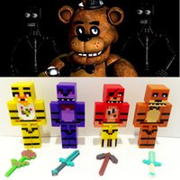 Wholesale Five nights at freddy s figure toys D FNAF dolls Five Nights At Freddy s FNAF figure dolls FNAF dolls kids toy