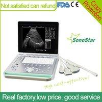 Wholesale Sonostar cheapest portable ultrasound machine device veterinary ultrasound SS V7