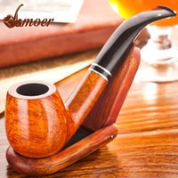 Cheap Men's Smoking Pipes High quality briar Moer oil rigs Gift box Packaging