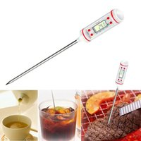 Wholesale Probe Digital Kitchen Electronic Probe Meat Cool BBQ Selectable Sensor Thermometer Temperature Cooking Food