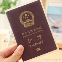 Card Holders Passport Unisex 10 pcs lot Fashion Passport Ticket ID&Document Holder Credit Card Travel Cover Protector travel accessories passport case