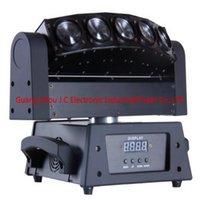 5eyes 10w a conduit le CREE RGBW 4in1 en mouvement la lumière principale de faisceau 14 / 30CH 120W AC100V-240V 0-20times / seccond