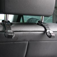 Wholesale 2pcs Car Seat Hook For Ford Focus Fiesta Mondeo Tuga Ecosport Fusion Focus MK2 MK3 Toyota rav4 Car Styling Accessories