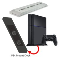 Wholesale IN USA Stock Vertical Stand Sturdy Base Dock Mount Holder for Sony Playstation PS4 Console