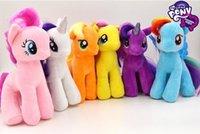 horse doll - 2016 My Little Pony Plush Toy Kids Little Horse Stuffed Doll Cute Stuffed Animals Toy Kids Girls Birthday Gift cm