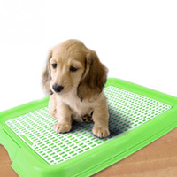 Wholesale Indoor Pet Toilet Dog Restroom Potty Training with Tray and Puppy Pad Pet Training Toilet
