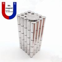 Wholesale 10pcs D10x30mm neo neodymium D10x30 magnet mm N35 magnet D10 permanent magnet x30mm rare earth magnet mm x mm x30 magnet