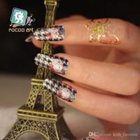 Wholesale nail sticker harmless nail decal hello kitty