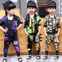 sweat suits - Boys Clothing Sets Child Clothes Kids Sweat Suits Autumn Hoodies Korean Boy Pants Boys Suits Children Set Kids Outfits Lovekiss C26235
