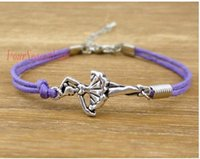 ballet dancer charm - Choose Colors Ballerina Charms Ballet Dancer Ballet Dancer Pendant Wrap Bracelets Leather Wax Unisex Women Fashion Christmas Custom Design