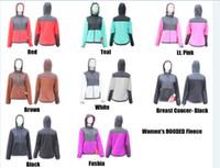 Wholesale Light warm sport jackets Women Autumn fleece hoodie dozen colors firt hand prices high quality with dustbags xs xxl