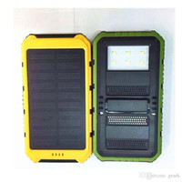 Cheap Hot sale sun lights charging20000mAh solar power bank usb solar charger 2USB ports external back up power wholesales price