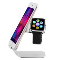 apple ipad watch - Universal in Multifunction Stand for i Watch Aluminium Phone Holder Charging Support for iPhone for Samsung for iPad Tablet