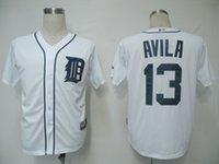 alex tiger - HOT MLB Detroit Tigers Alex Avila Men Baseball Jersey Authentic Stitched Baseball Shirt White fashion popular MLB baseball jerseys