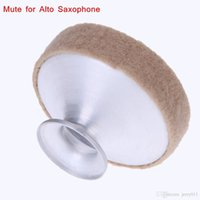 Wholesale Alto Saxophone Sax Mute Silencer Metal Dampener Made of Good Aluminum Easy to Install Saxophone Accessories