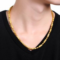 best bead crafts - Pure K Yellow Gold Necklace Best Craft Men s Beads Chain Necklace g