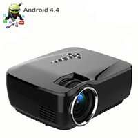 Wholesale Newest Portable LED Mini Pocket Micro HD Android WIFI Led Multimedia Projector Perfect Home Theater Cinema Video Game Projector