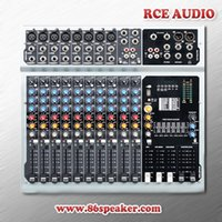 Wholesale 12 channels Professional Power Mixing console With built in amplifier USB MP3 input DJ mixer pro audio equipment
