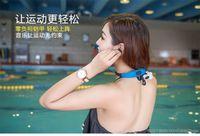 KYK-268 Wireless Cell Phones 2016 Newest Waterproof bluetooth MP3 Music Player Underwater Swim Surfing Diving Neckband Sports Stereo Earphone Headset Headphone IPX8