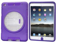 air production - For Ipad Air Case For Ipad Air case Candy color Clear PC TPU bump color collocation is three the cases factory production and processing