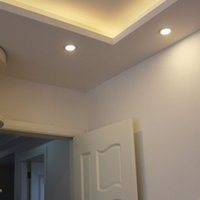 exhibition panel - 4W Ultra Thin Dimmable LED Recessed Ceiling Panel Down Lamp Warm Cool Corridor Hallway Store Exhibition Home Commercial Light