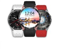android disc - Fall New Style Disc Shape G Smart Watch WIFI Heart Rate Pedometer Weather Forecast GPS Positioning Smart Watch mobile
