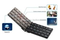 Wholesale Bluetooth Keyboard Folding Portable Wireless Mini Keyboard for IOS Android Cell Phones for Smart Phones