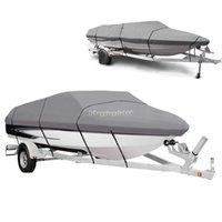 Wholesale Portable Heavy Duty Waterproof Boat Cover Fishing Ski Bass Motorboat
