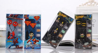 Wholesale Students Kids Cartoon Earphones Avengers mm in ear Headphones For MP3 MP4 Smart Phone Music Player