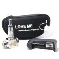 Cheap Wholesale-4pcs Hammer E Pipe Mod Kit Mechanical E-Pipe Mod E Cigarette With V2 Atomizer Stainless Steel E-pipe Electronic Cigarettes Kits
