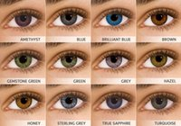 Wholesale 6pcs box color contact lens Color fresh cosmetic color lenses pack colors luxury lens yearly using contact lenses