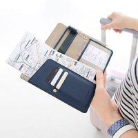 auto cash - case auto Cheapest Journey Travel Passport Holder Cash Leather Wallet Purse ID Card Organizer Case