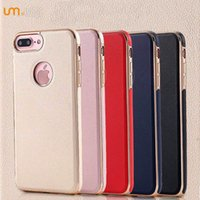 apple aramex iphone - 2016 New Design Leather Metal Case For Iphone plus Dirt Resistant Colours Hight Quality cases DHL UPS ARAMEX