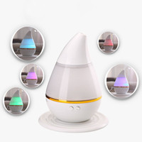 Wholesale White ABS USB Charging cm LED Air Humidifier Incense Burners Essential Oil Ultrasonic Aroma therapy Diffuser mL