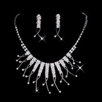 african lady - 2016 Cheap New Styles Statement Necklaces Pearl Sets Bridesmaids Jewelry Lady Women s Prom Party Fashion Jewelry Earrings