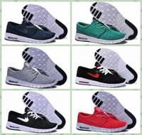 Wholesale 2016 SB Stefan Janoski Max Shoes Women And Mens Breathable Casual Mesh Running Shoes Zapatillas Sneakers Trainers Shoes Size US7