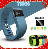 ar fitness - New Fashionable TW64 FITBIT wristband Smart Band Fitness Activity Tracker Bluetooth Smartband Sport Bracelet colors for android IOS AR