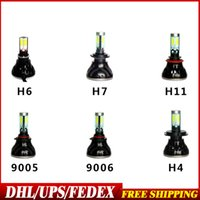 Wholesale DHL Fedex Pair G5 Models Car LED Headlights Surface Emitting LED Car Headlights H7 H11 Headlamp
