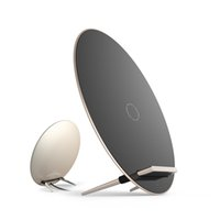 aluminum zinc coil - Utra thin zinc aluminum alloy wireless charger stand Qi wireless charging mobile phone Charger coils charging for Samsung and QI mobile