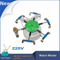 Wholesale V Watch Repair Tools Arms automatic Watch Winder Watch Tester Tools Cyclotest Watch Winder For watchmaker Testing
