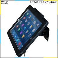 Wholesale for iPad wall mounting for iPad tablet display stand holder brace wall mount holder for ipad air A plurality of angles stand