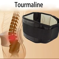 Wholesale Lumbar Support Belt Adjustable Tourmaline Self heating Magnetic Therapy Lumbar Brace Belts Thermal Protection Double Banded S XL