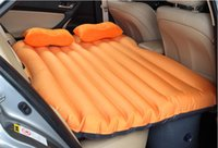 Wholesale Car backSeat inflatable Air Mattress bed High quality Car inflatable cushion Travel Bed Inflatable Mattress