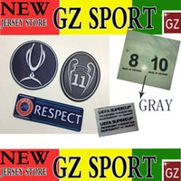Wholesale 2016 super cup Real Madrid BENZEMA JAMES BALE ASENSIO soccer patch and szie NO patch VIETNAM