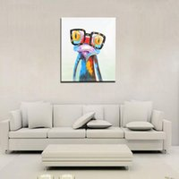 Cheap Modern Abstract Unframed Hand-painted Oil Painting Art Prints Printing on Canvas Wall Decoration for Living Room Office Bedroom H16957