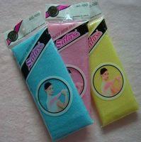 Wholesale 300pcs salux beauty skin cloth exfoliating wash cloth japanese body wash towel